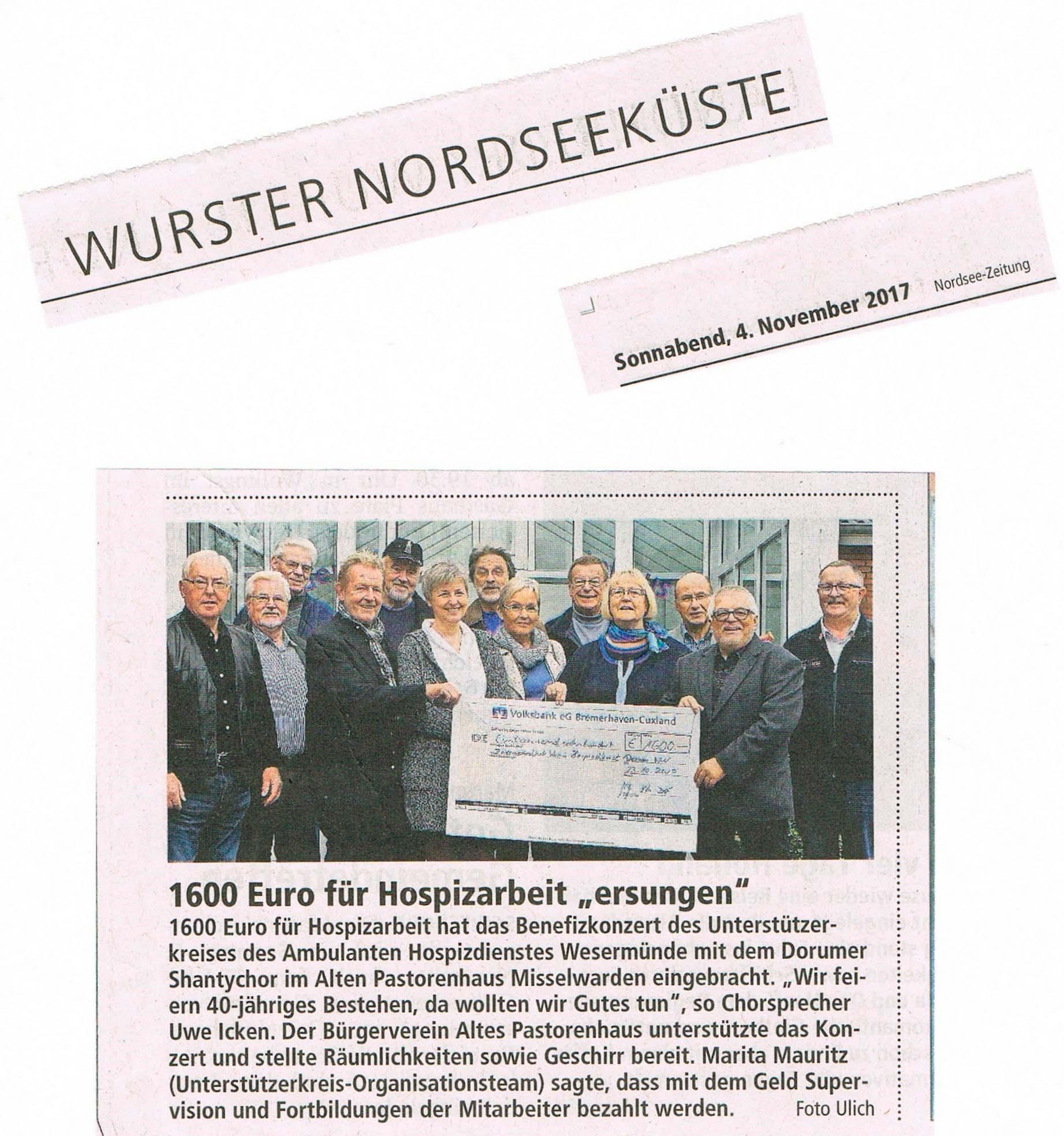 Presse1 neu Benefizkonzert Altes Pastorenhaus