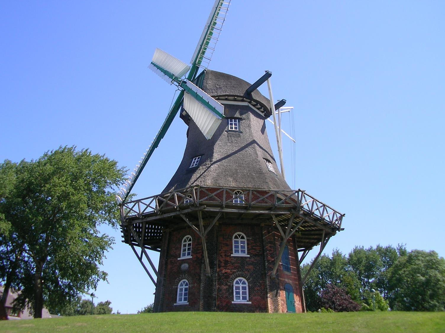 Windmühle Midlum k